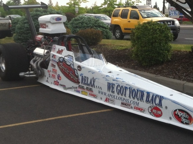 Arctic Spas dragster