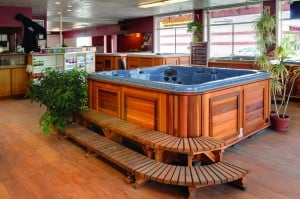 Hot Tub in Arctic Spas Utah