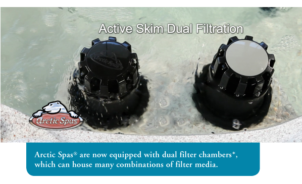 arctic spas active skim filtration