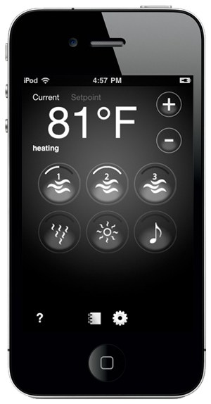 arctic spas hot tubs app on iphone