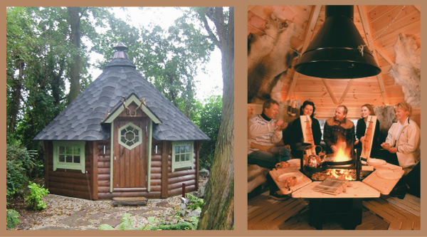 Grill Houses Bbq Huts Mini Cabins For Fun And Socializing