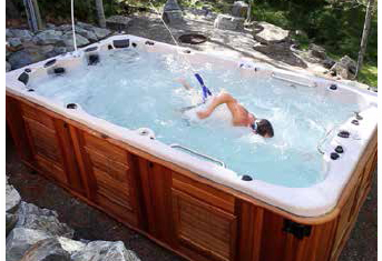 Swim systems arctic spas for Hot tub designs and layouts